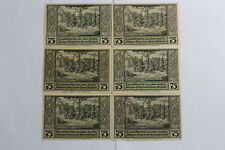 GERMANY LÄHN SERIE FROM A TO F 6  BANKNOTES B19 #712