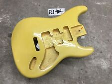 Strat Electric Guitar Body Cream Yellow
