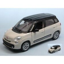 NEW RAY 1:32 AUTO DIE CAST FIAT 500L BIANCA   ART 51193