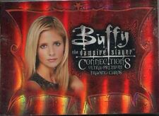 Inkworks Buffy TVS Connections Complete 72 Card Base Set