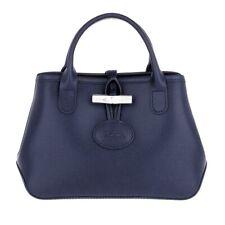 NWT Longchamp Roseau Mini Sml Crossbody Bag NAVY BLUE Made in France AUTHENTIC