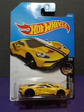 2017 Hot Wheels New '17 FORD GT in YELLOW, HW NIGHTBURNERZ series 2/10. L/M Case