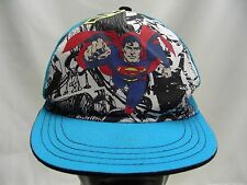 SUPERMAN - DC COMICS - YOUTH SIZE - ADJUSTABLE SNAPBACK BALL CAP HAT!