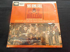 "Nat King Cole sings his songs Cat Ballou 1965 LP 12""33rpm UK vinyl record (fair)"
