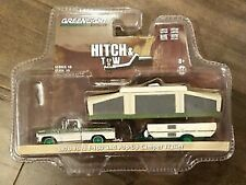 GREENLIGHT 1/64 32100-B CHASE 1970 FORD F-100 POP-UP CAMPER TRAILER