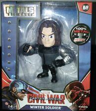 "Metals Die Cast Winter Soldier 4"" Captain America Civil War Avengers Marvel M49"