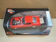 Hot Wheels 100% - Red Corvette Hot Rod - 1:18 Die-Cast Metal NIB #29226