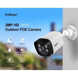 Sricam SH035B 1296P WIFI IP Camera POE Camera Waterproof Security Cam Full-Color