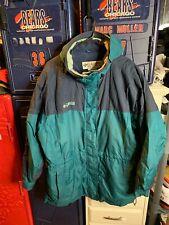 Vintage Hooded Columbia Jacket Mens XL