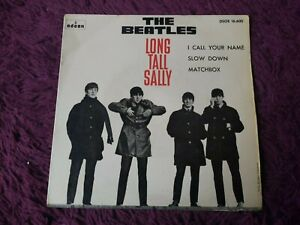 "The Beatles – Long Tall Sally Vinyl 7"" EP 1964 Spain  DSOE 16.600"