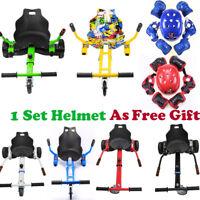 "Self Balance Scooter Adjustable Holder Attachment Go Kart Seat for 6.5"" 8"" 10"""