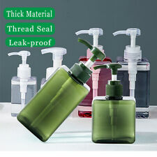 Portable Travel Hand Pump Soap Dispenser Shampoo Shower Gel Lotion Bottle