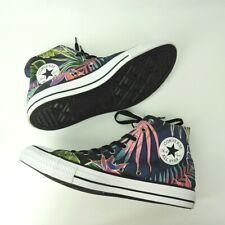 hot sale online ea34f 0e82e Converse CTAS Hi Sneakers Floral Blue Fuchisa Shoes men s 12   women s 14  unisex