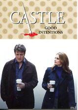 Castle Seasons 3 & 4 Caskett Chase Card  C8