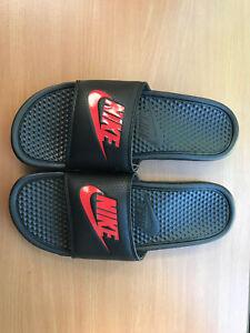 NEW Nike Mens Benassi JDI Slippers Slide Sandals Size 7 to 13