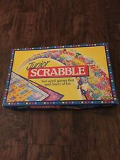 """GREAT FUN CHILDREN'S GAME """"JUNIOR SCRABBLE"""" BY SPEARS-IMMACULATE"""
