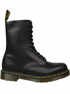 Dr. Martens Doc 10 loch Unisex-Stiefel 1490 Boot Schwarz Black 5079