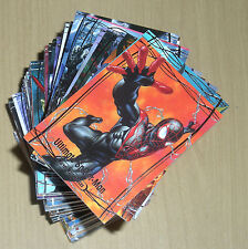 2016 Marvel Masterpieces Jusko 81-card base set no high numbers