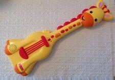 Fisher Price Music Giraffe Guitar - KFP2112, 10 Demo Melodies, 3 Guitar Effects