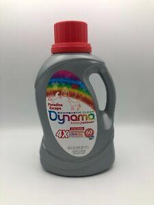 Dynamo Paradise Escape Laundry Detergent 60 Oz Discontinued Rare Bsh