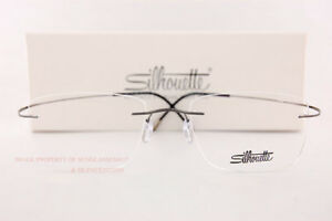 New Silhouette Eyeglass Frames TMA Must Collection 5515 CQ 6560 Fossil Titan  54