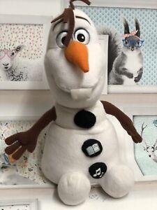 Disney Frozen Olaf Snowman Storyteller Soft Talking Plush Toy