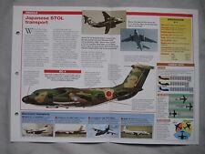 Aircraft of the World Card 96 , Group 5 - Kawasaki C-1