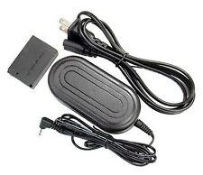 AC Adapter Kit ACK-E12 + DC Coupler DR-E12 for Canon EOS-M Mirrorless Digital