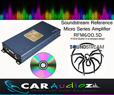 SOUNDSTREAM rfm600.5d 5c. CLASSE D digitale amplificatore