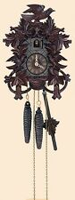 Deeply Carved Cuckoo Clock by Anton Schneider (30-Hour) (10-1/2 Inches) 872/11