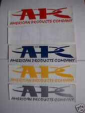 "APC 2""X6"" Vinyl Window Sticker Decal Pair"