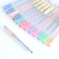 MUJI Style #0316 Gel Ink Pen Ballpoint Marker 0.5mm 12 Colours - UK SOLD!