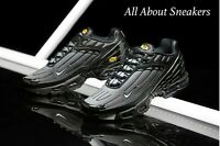 """Nike Air Max Plus III """"Black/Wolf Grey/B"""" Men's Trainers Limited Stock All Sizes"""