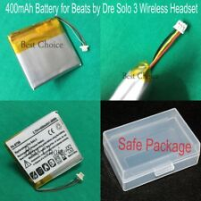 New 400mAh 1.48Wh Replacement Li-on Battery for Beats by Dr. Dre Solo 3 Headset