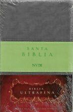 Biblia NVI ULTRAFINA Y LIVIANA - Encuadernación elegante