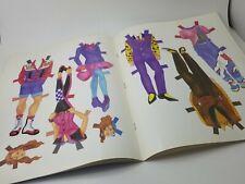 New Vtg 1992 Rock Star Paper Doll Golden Book Kid Toy Activity, Never Cut Nos