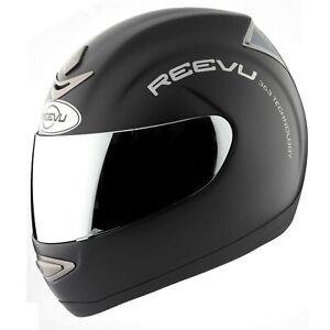 Reevu Matt Black Small MSX1 Rear View Mirror Motorcycle Helmet ECER2205