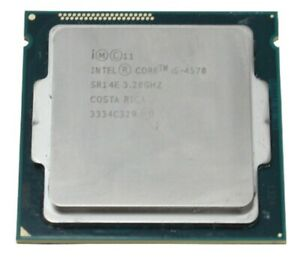 Intel Core i5-4570 3,2GHz Socket 1150 / H3 / Haswell Procesador SR14E