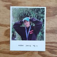 I.N Official Polaroid Photocard Stray Kids 1st Album Go生 Go Saeng Genuine