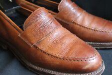 Polo Ralph Lauren PRL x Crocket & Jones C&J Cognac Brown Loafer Slip On 10.5D US