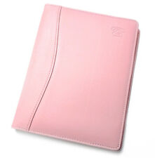 Collins Elite A5 Pink Faux Leather A-Z Address Book & Card Holder 144 Pages