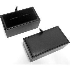 Black Cufflinks Box Presentation Gift Box for Cufflinks
