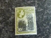 GOLD COAST POSTAGE STAMP SG164 10/- UN-MOUNTED MINT
