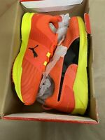 Ignite XT V2 Red Blast Yellow Puma Mens Size 7.5