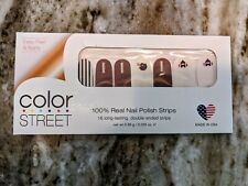 Color Street Sunday Puntday Football Retired Unicorn Resealed Partial Set Nails