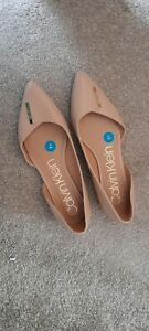 Calvin Klein Ladies Slip on Shoes Uk 8 New Genuine