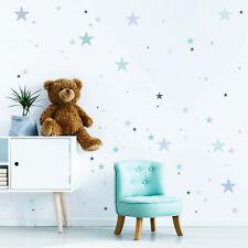 Wandtattoo Kinderzimmer 100 Sterne Pastell Dekosterne Aufkleberset Sternenhimmel
