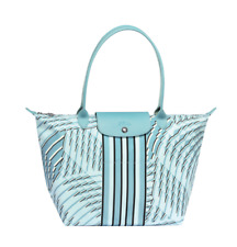 Authentic Longchamp Le Pliage Neo Pastel 2018 Tote Bag Aqua- Large