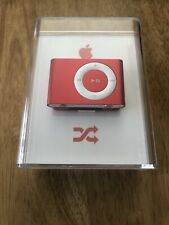 apple ipod Shuffle 2GB Product Red Special Edition MB779ZO/A NEW SEALED