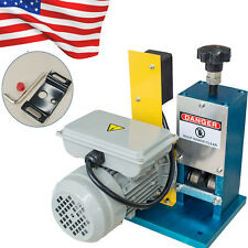 【US】Powered Electric Wire Stripping Machine Scrap Cable Stripper Metal Tool 110V
